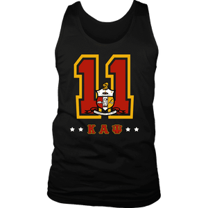 Kappa Alpha Psi Founding Year District Mens Tank - Unique Greek Store