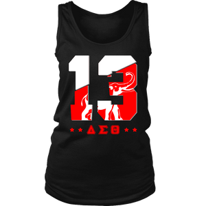 Delta Sigma Theta Founding Year District Womens Tank - Unique Greek Store