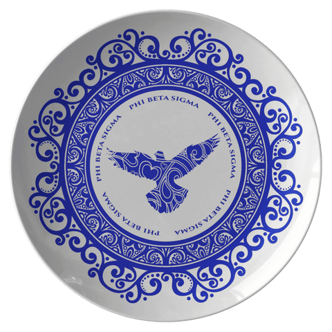 Image of Phi Beta Sigma Plate - Unique Greek Store
