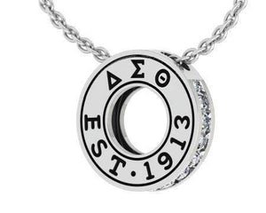 Delta Sigma Theta 1913 Pendant Necklace - Unique Greek Store