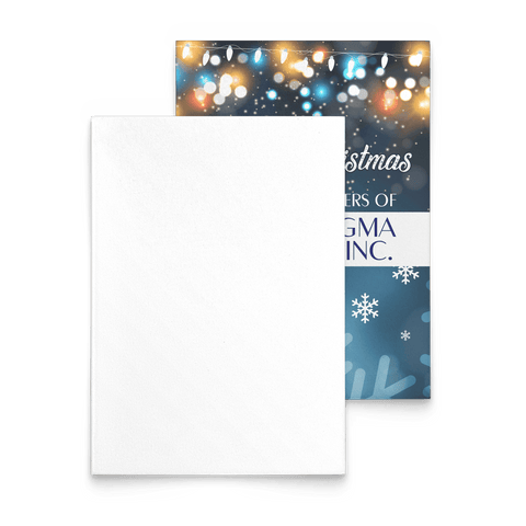 Image of Phi Beta Sigma Christmas Card - Unique Greek Store