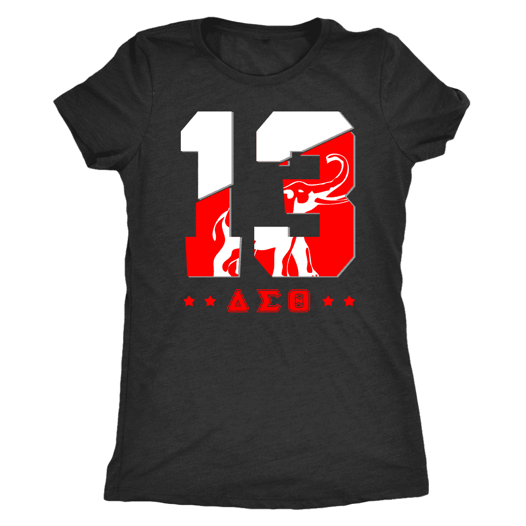 Delta Sigma Theta Founding Year Next Level Womens Triblend - Unique Greek Store
