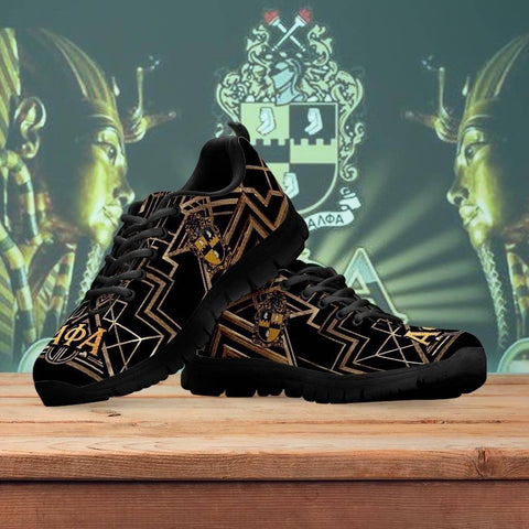 Men's Alpha Phi Alpha Runners Shoes - Unique Greek Store