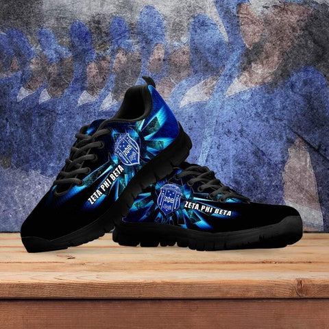 Image of Women's  Zeta Phi Beta Runners Shoes - Unique Greek Store