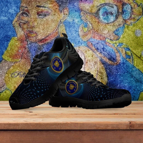 Image of Women's Sigma Gamma Rho Runners Shoes - Unique Greek Store