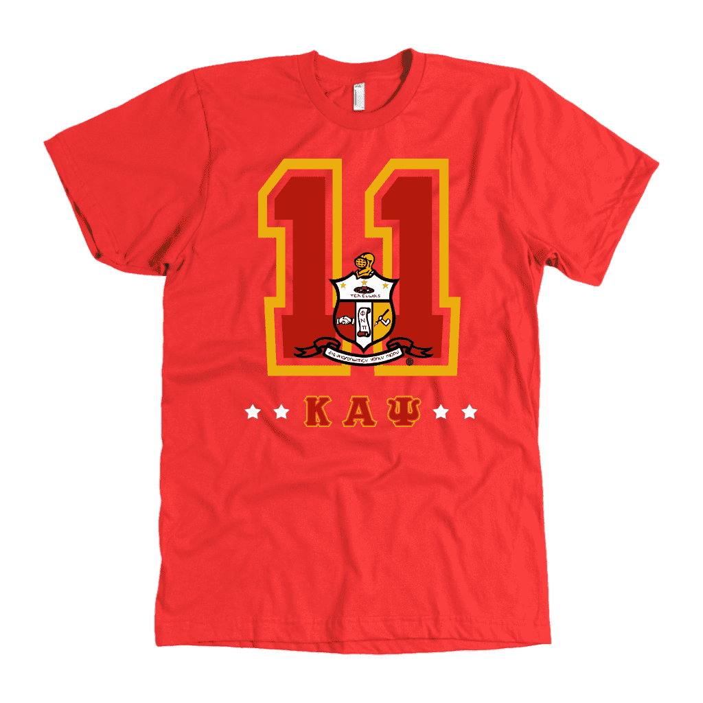 Kappa Alpha Psi Founding Year American Apparel Mens - Unique Greek Store
