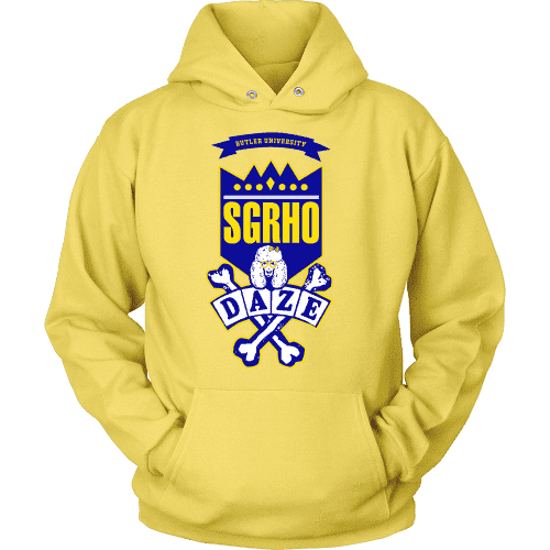 SGRHO Daze Hoodie - Unique Greek Store