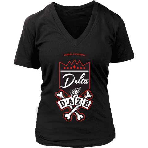 Delta Daze V-Neck - Unique Greek Store