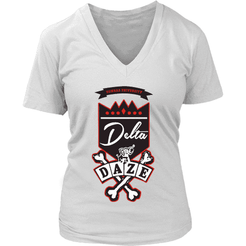 Image of Delta Daze V-Neck - Unique Greek Store