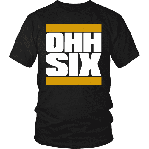 Alpha Phi Alpha OHH SIX Tee - Unique Greek Store
