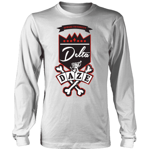 Delta Daze Longsleeve - Unique Greek Store