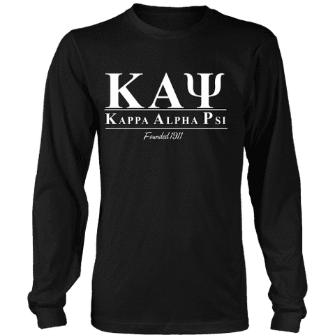 Kappa Alpha Psi Collegiate Longsleeve - Unique Greek Store