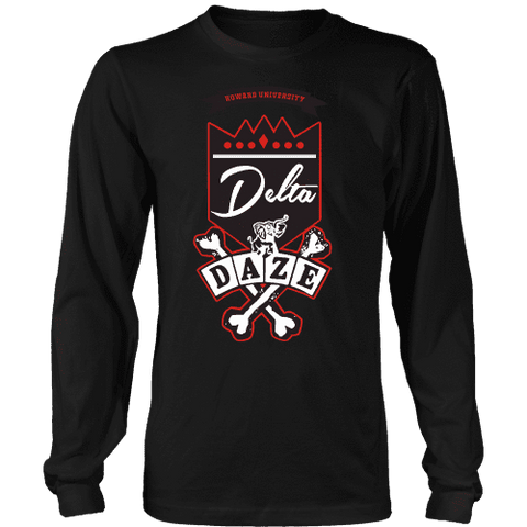 Image of Delta Daze Longsleeve - Unique Greek Store