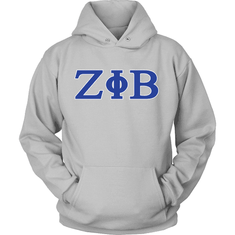 Zeta Phi Beta Letters - Unique Greek Store