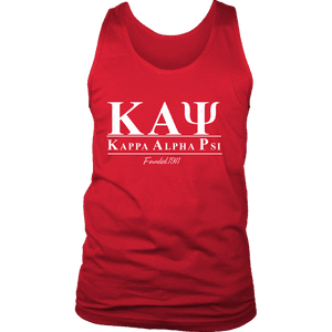 Kappa Alpha Psi Collegiate Tank - Unique Greek Store