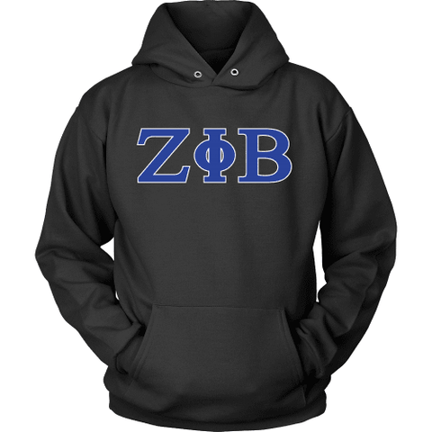 Image of Zeta Phi Beta Letters - Unique Greek Store