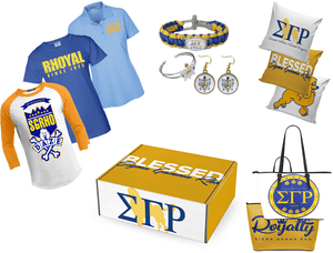 Sigma Gamma Rho Poodle Box - 12 Months - Unique Greek Store