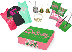 Alpha Kappa Alpha Subscription Box - 12 Months - Unique Greek Store