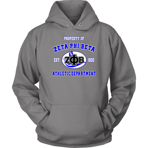 Image of Zeta Phi Beta Varsity Hoodie - Unique Greek Store
