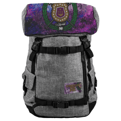 Image of Omega Psi Phi Travel Bags - Unique Greek Store