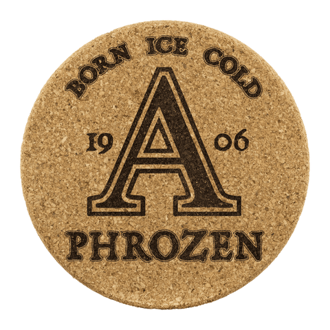 Image of Alpha Phi Alpha Cork Coaster