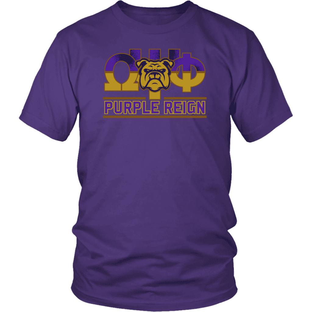 Omega Psi Phi Expression Tee - Unique Greek Store