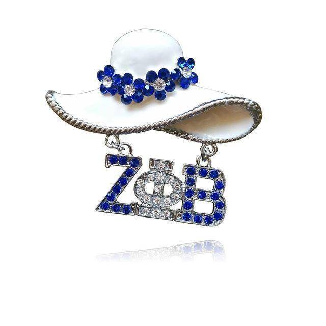 Zeta Phi Beta Hat Pin - Unique Greek Store