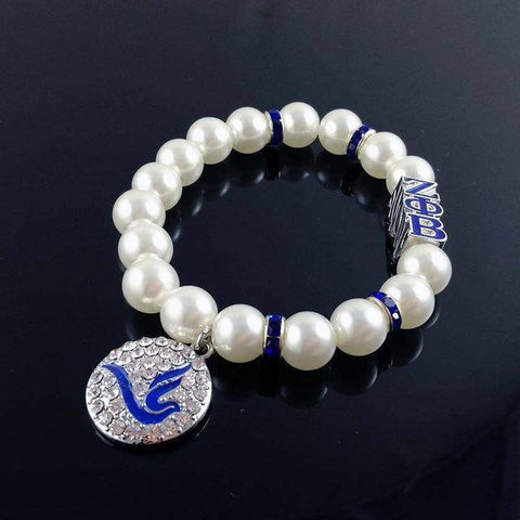 Image of Zeta Phi Beta Dove Bracelet