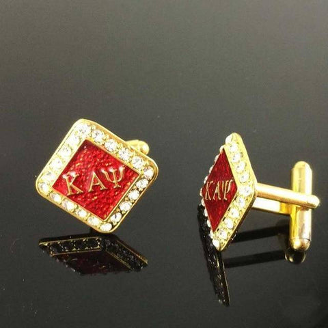 Kappa Alpha Psi Emblem Cufflinks - Unique Greek Store