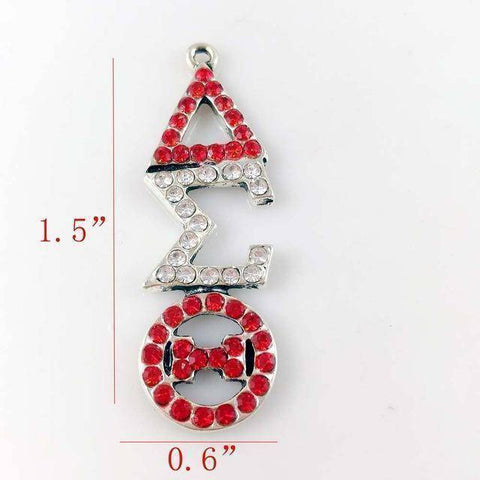 Image of Delta Sigma Theta Necklace Jewelry Set - Unique Greek Store