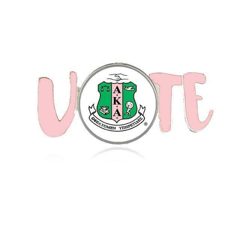 Image of Alpha Kappa Alpha Vote Lapel Pin