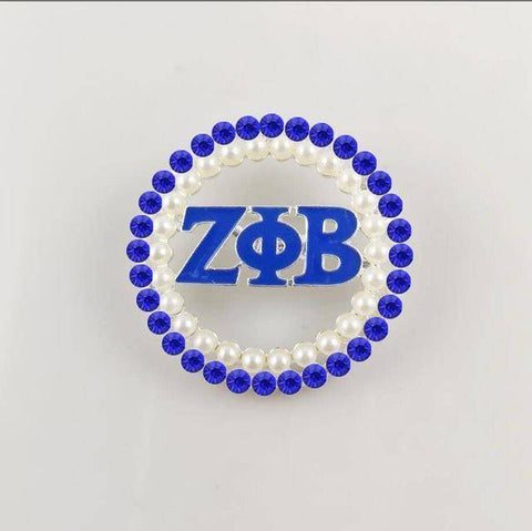 Zeta Phi Beta Greek Lapel Pin - Unique Greek Store