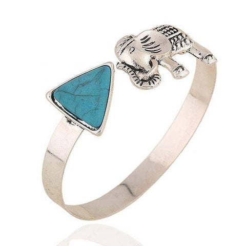 Delta Sigma Theta Elephant Bangle - Unique Greek Store