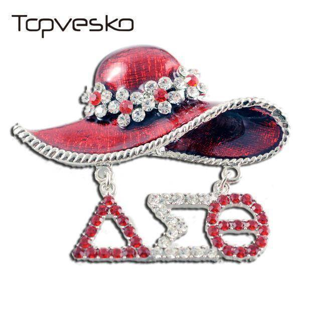 Delta Sigma Theta Hat Pin - Unique Greek Store