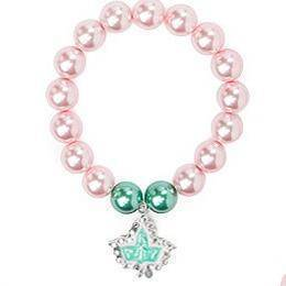 Alpha Kappa Alpha Pink and Green Set Jewelry