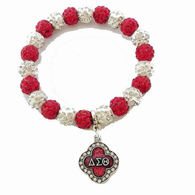 Delta Sigma Theta Flower Shaped Crest Shield