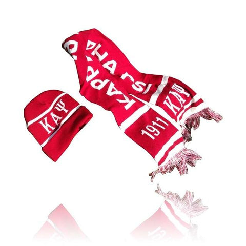 Image of Kappa Alpha Psi Graduation Kente Stole Scarf Hat