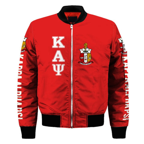 Image of Kappa Alpha Psi Customized Bomber Jacket