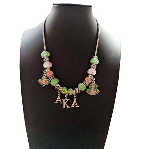 Image of Alpha Kappa Alpha Pandora Jewelry Set