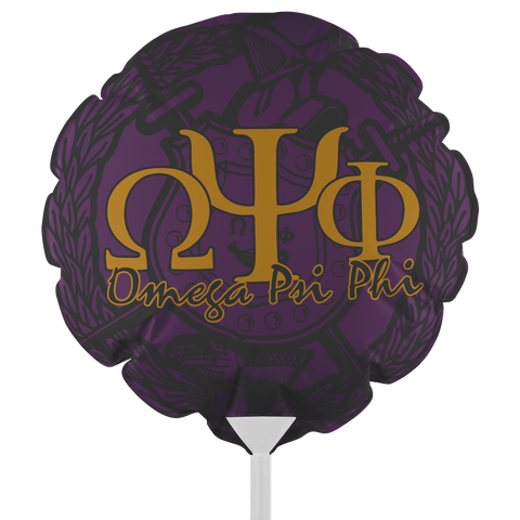 Image of Omega Psi Phi Fraternity Balloons