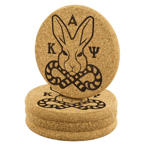 Image of Kappa Alpha Psi Cork Coaster
