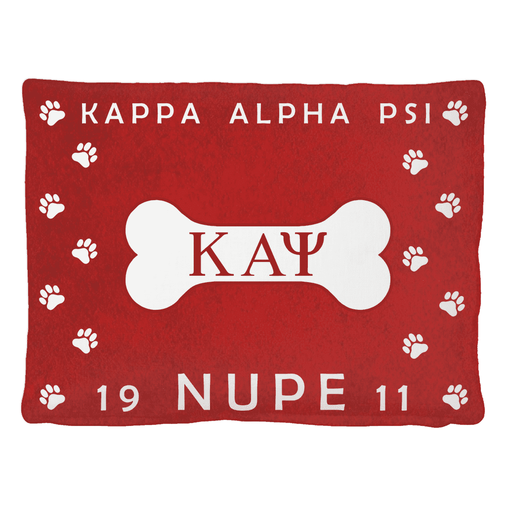Kappa Alpha Psi Pet Bed