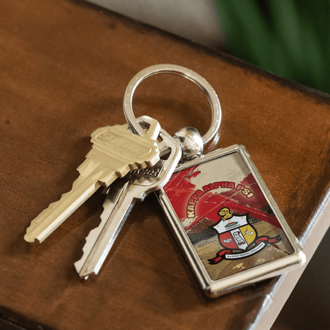 Kappa Alpha Psi Emblem KeyChains - Unique Greek Store