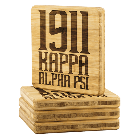 Kappa Alpha Psi Square Coaster