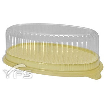 乳酪蛋糕盒 L007 Oval Cheese Cake Box with Lid 10 pcs/pk