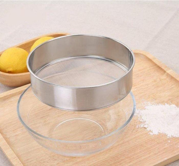 15cm麵粉/糖粉篩網15cm Flour Sifter 304 Stainless Steel
