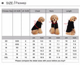 Casual Fleece Cat Fashion Hoodie Sweatshirt Sizing Chart