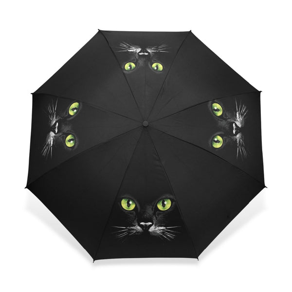 """Cat Eyes"" Folding Umbrella"