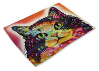 Colorful Cat Placemats Design 4