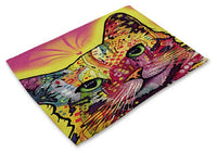 Colorful Cat Placemats Design 9